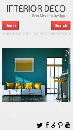 P ginas web m viles para dise o interiores - App diseno interiores ...